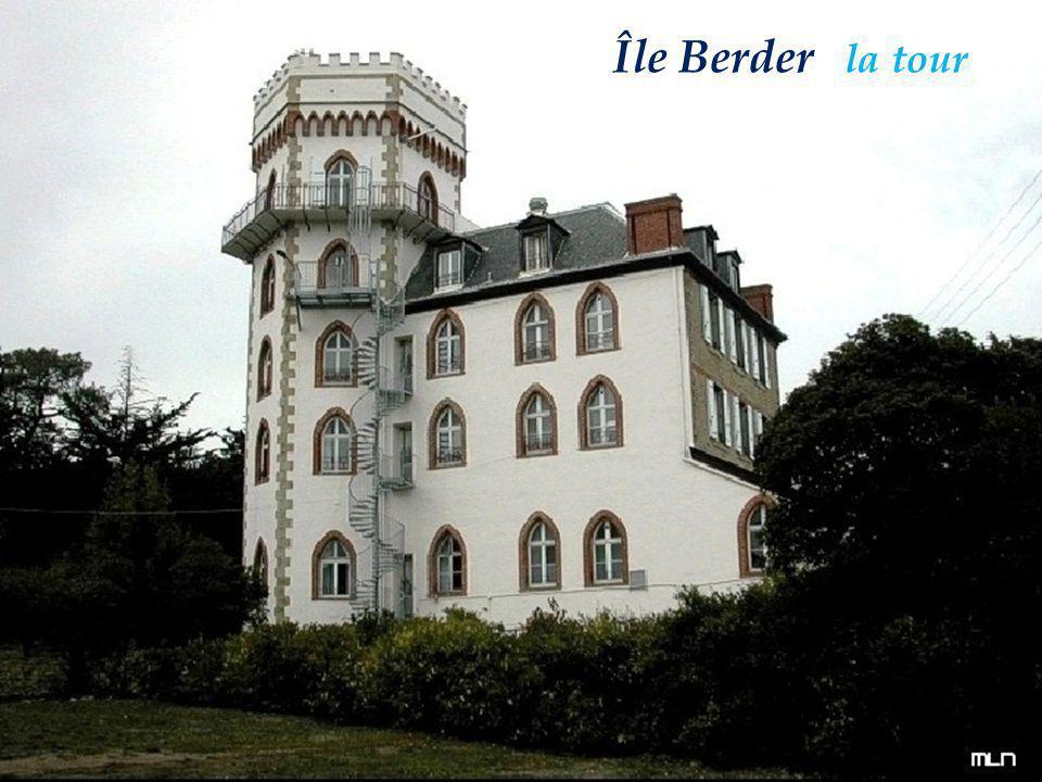 Île Berder Île Berder la tour