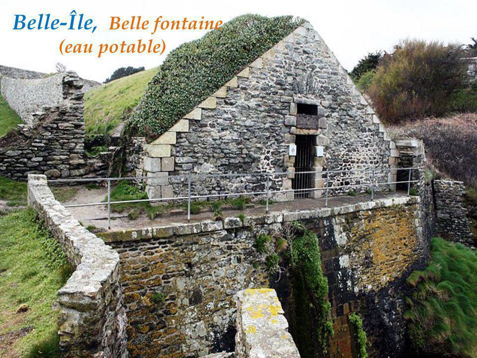 Belle-Île, Belle fontaine . (eau potable)