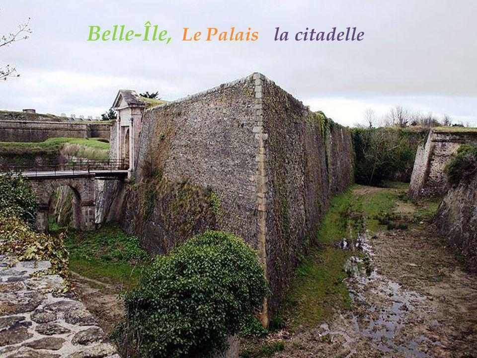 Belle-Île, Le Palais la citadelle