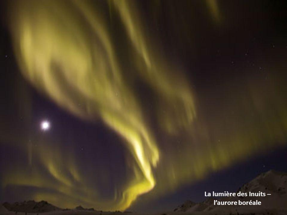 La lumière des Inuits – l'aurore boréale