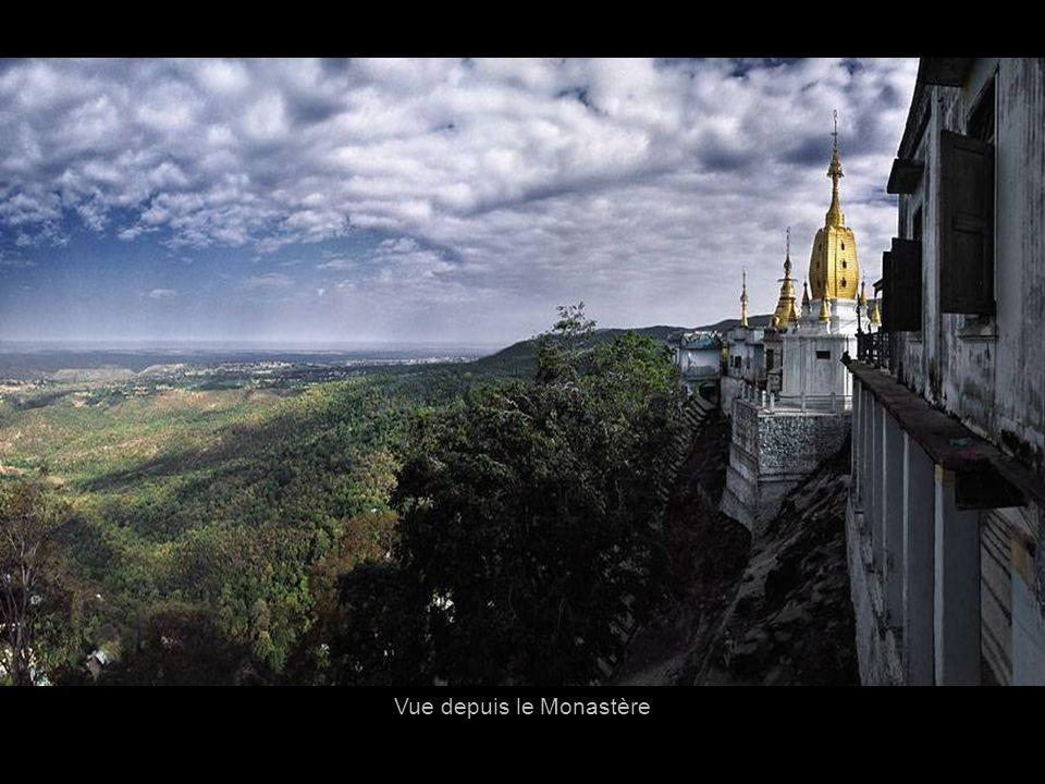 Vue depuis le Monastère