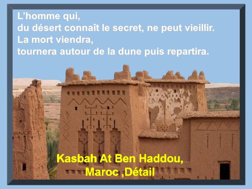 Kasbah At Ben Haddou, Maroc ,Détail