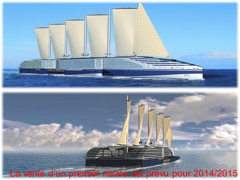 La vente d'un premier navire est prévu pour 2014/2015