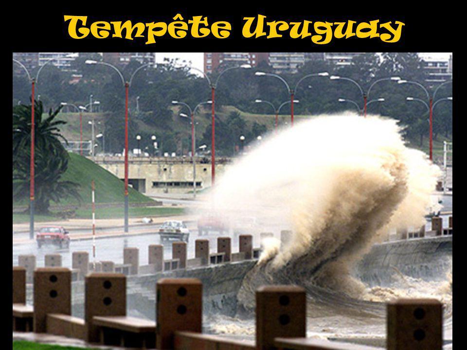 Tempête Uruguay