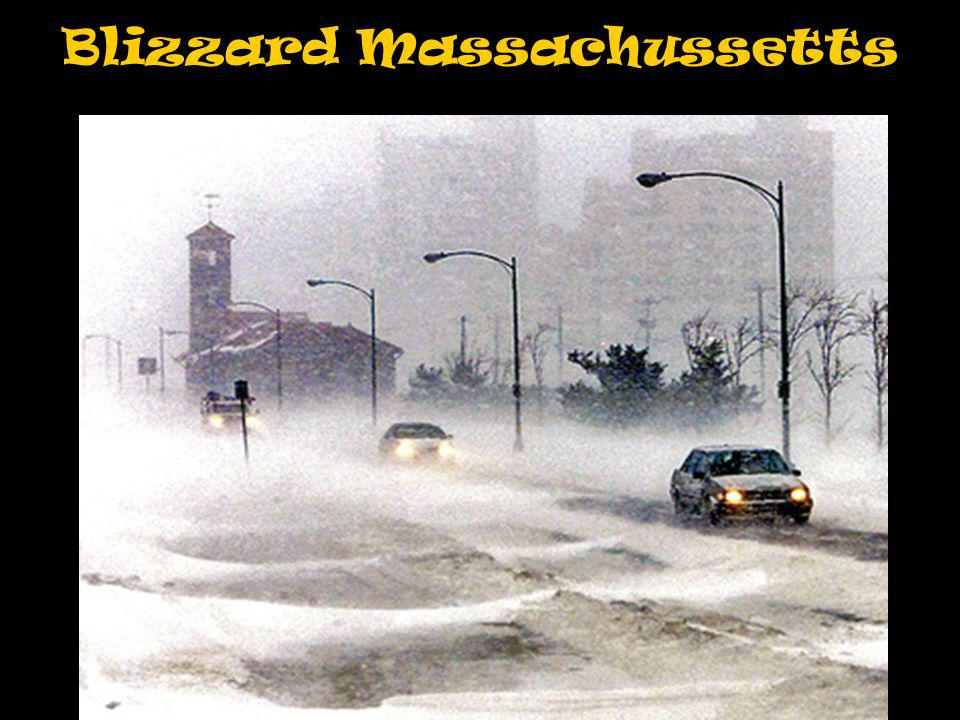 Blizzard Massachussetts