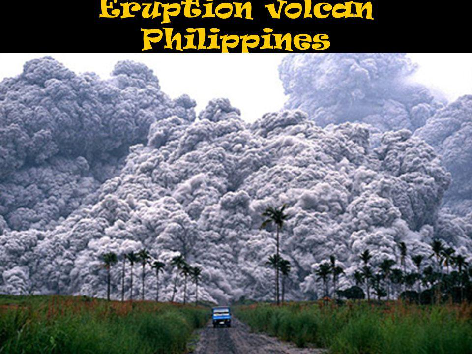 Eruption volcan Philippines
