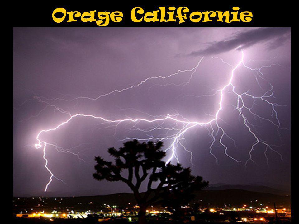 Orage Californie