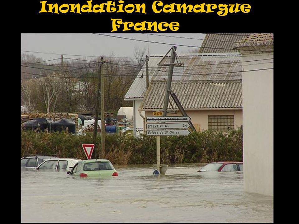 Inondation Camargue France