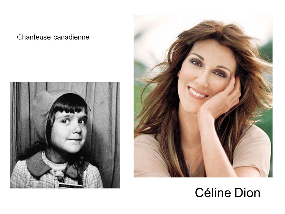 Chanteuse canadienne Céline Dion