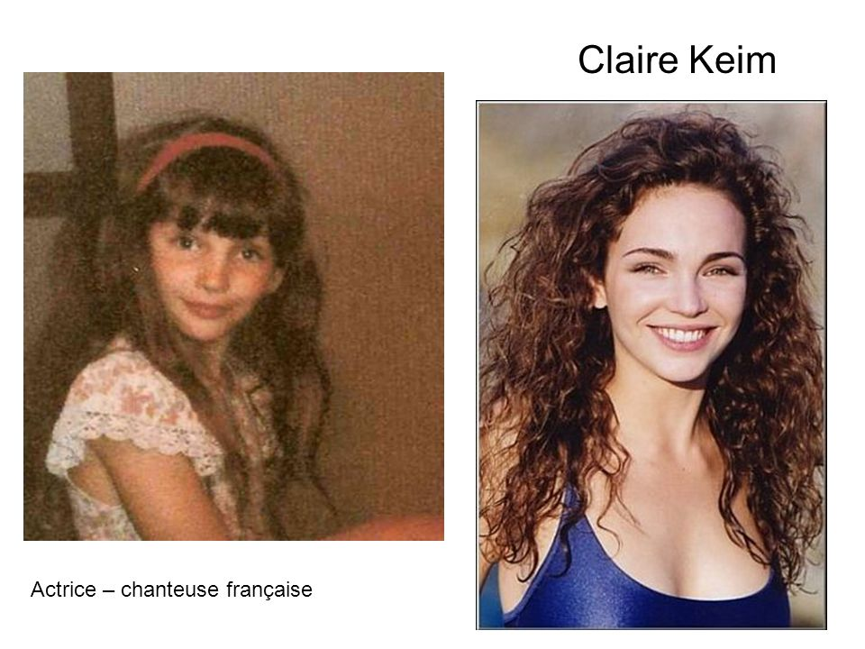Claire Keim Actrice – chanteuse française