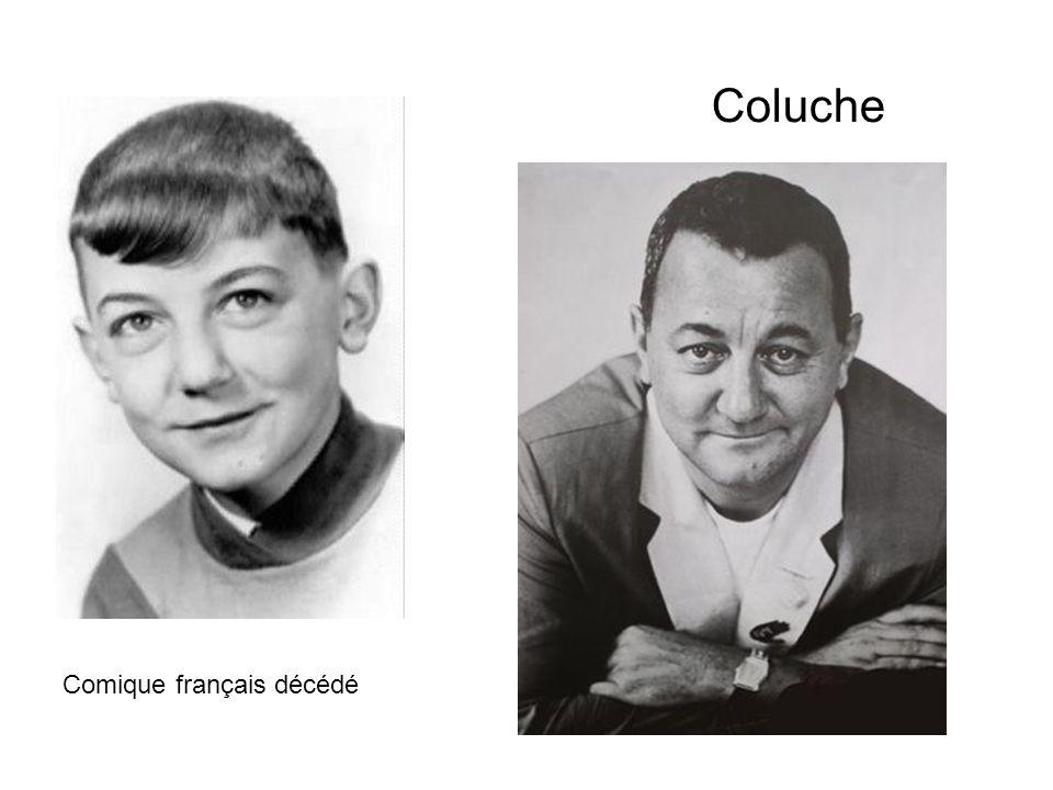 Coluche Comique français décédé