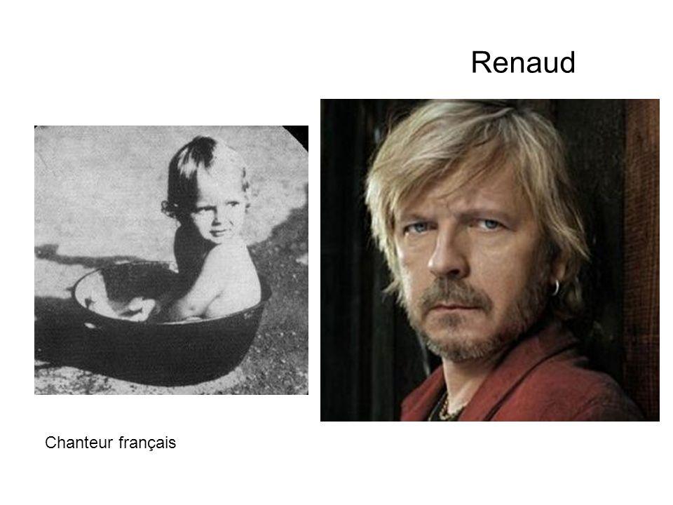 Renaud Chanteur français