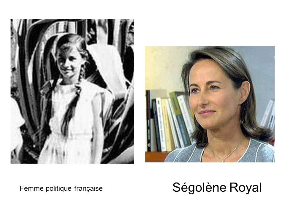 Ségolène Royal Femme politique française