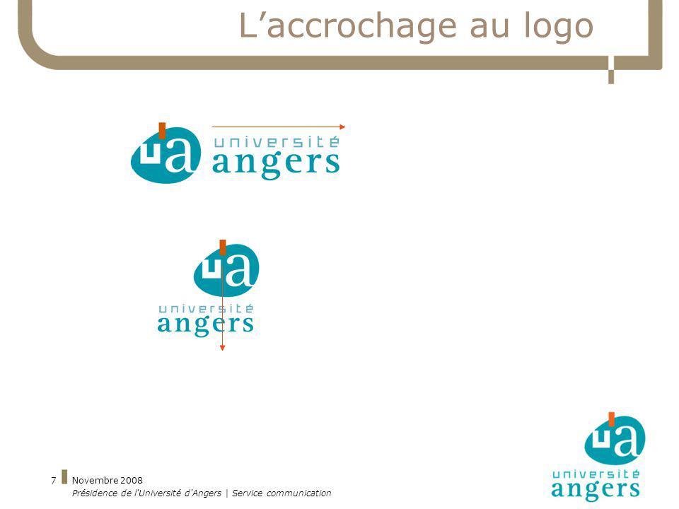L'accrochage au logo Novembre 2008