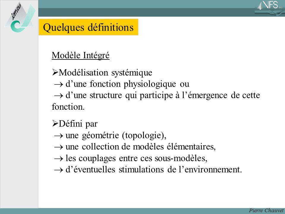 Quelques définitions Modèle Intégré