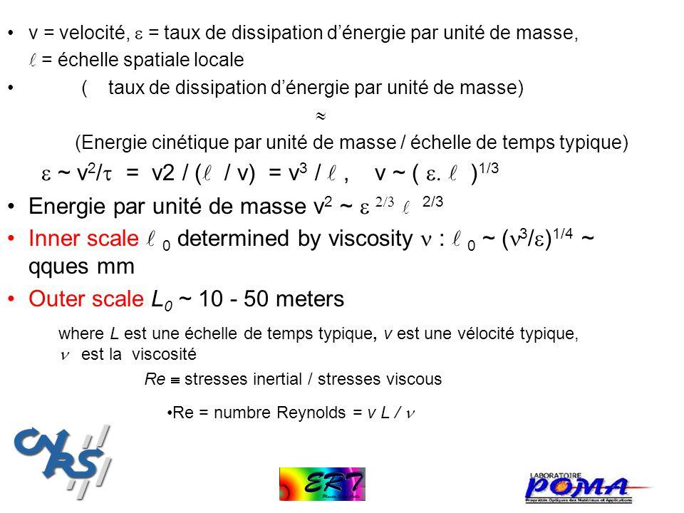 e ~ v2/t = v2 / ( / v) = v3 /  , v ~ ( e.  )1/3