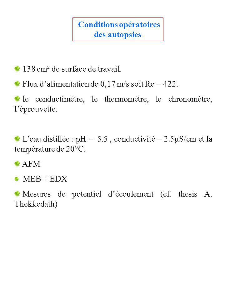 Conditions opératoires des autopsies