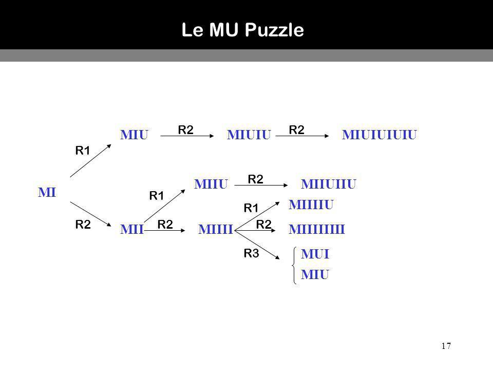 Le MU Puzzle MIU MIUIU MIUIUIUIU MIIU MIIUIIU MI MIIIIU MII MIIII