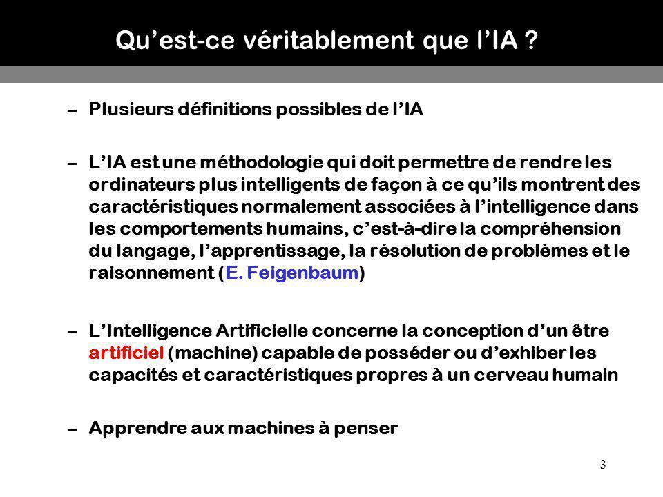 Qu'est-ce véritablement que l'IA