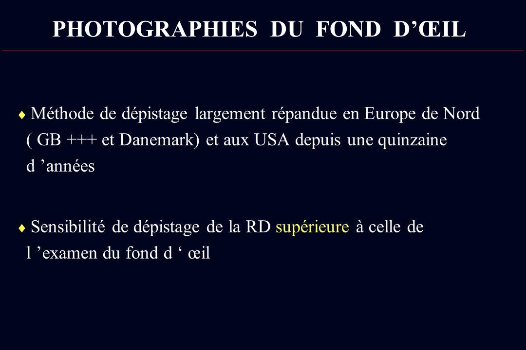 PHOTOGRAPHIES DU FOND D'ŒIL