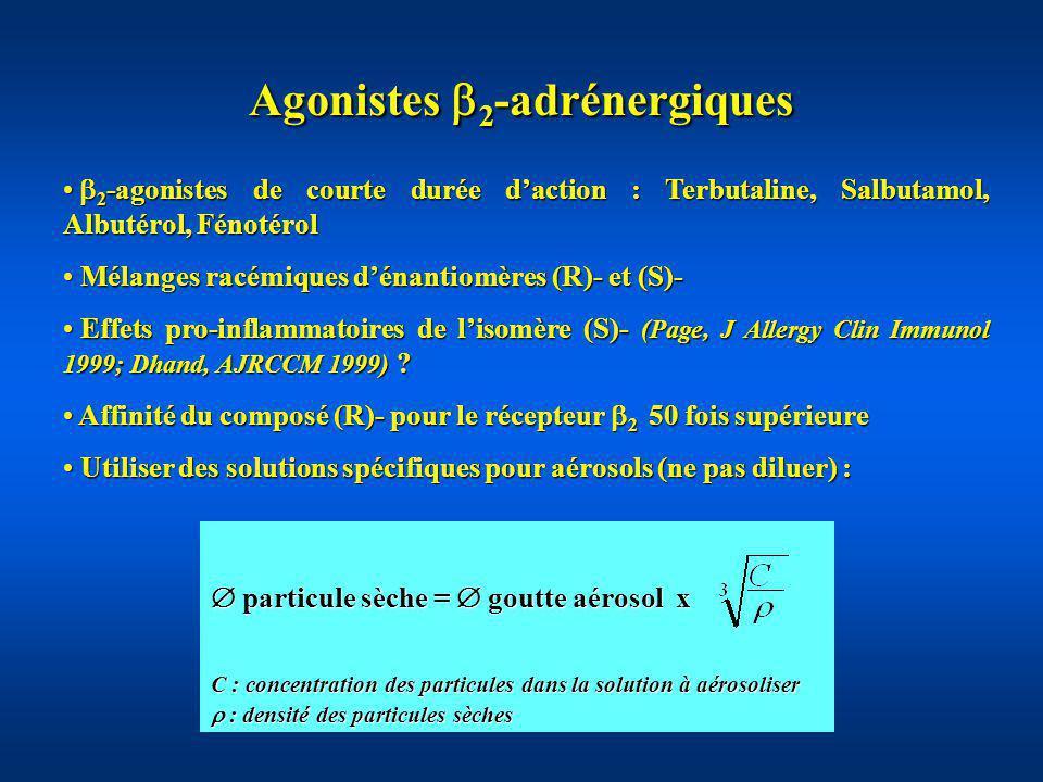 Agonistes 2-adrénergiques