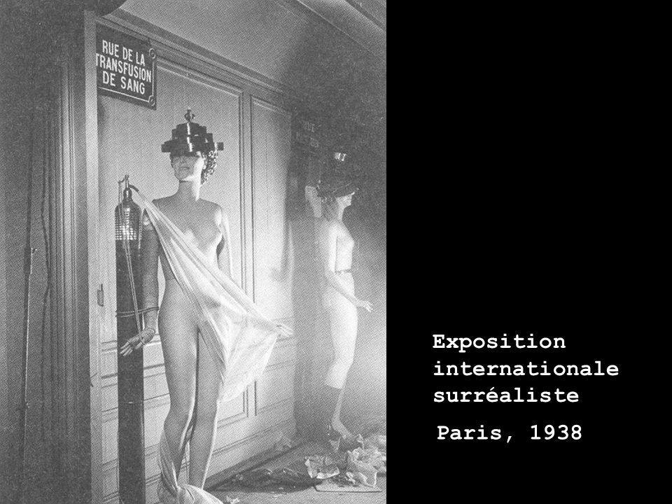 Exposition internationale surréaliste Paris, 1938