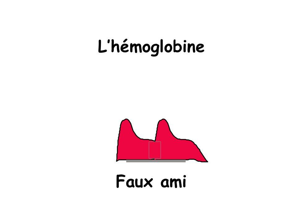 L'hémoglobine Faux ami