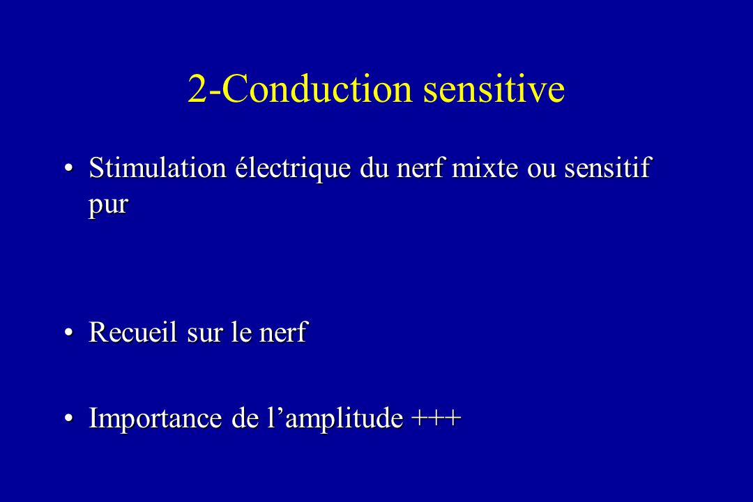 2-Conduction sensitive