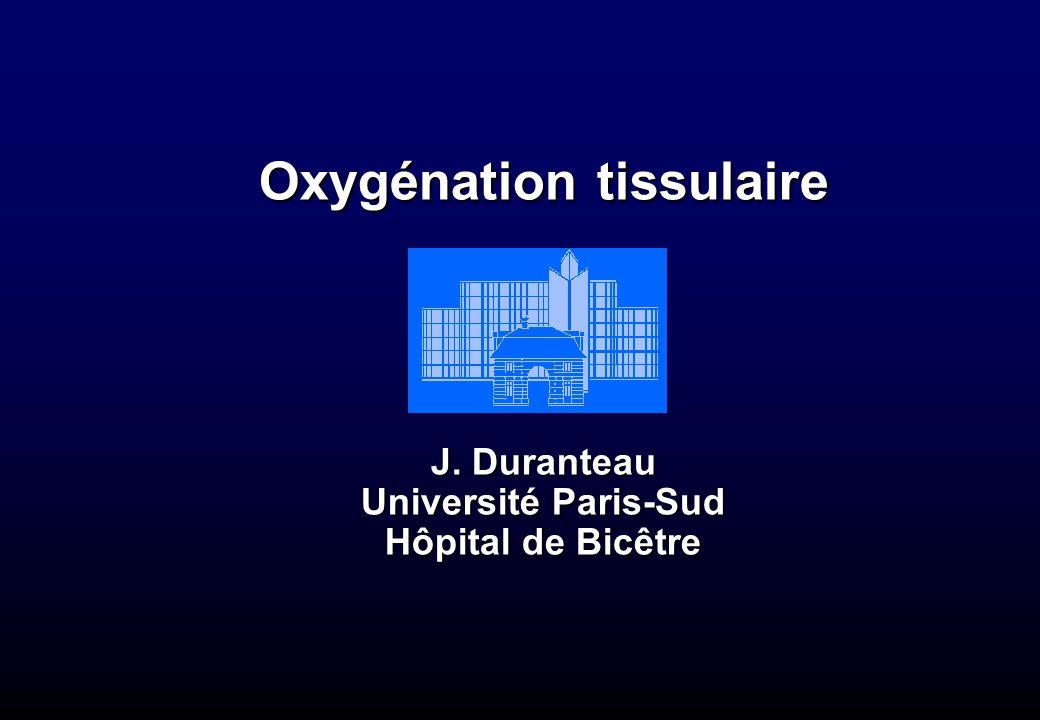 Oxygénation tissulaire
