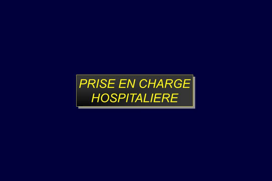 PRISE EN CHARGE HOSPITALIERE