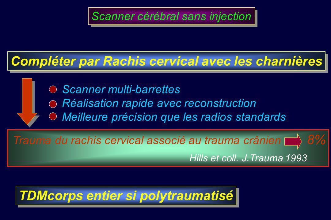 Compléter par Rachis cervical avec les charnières