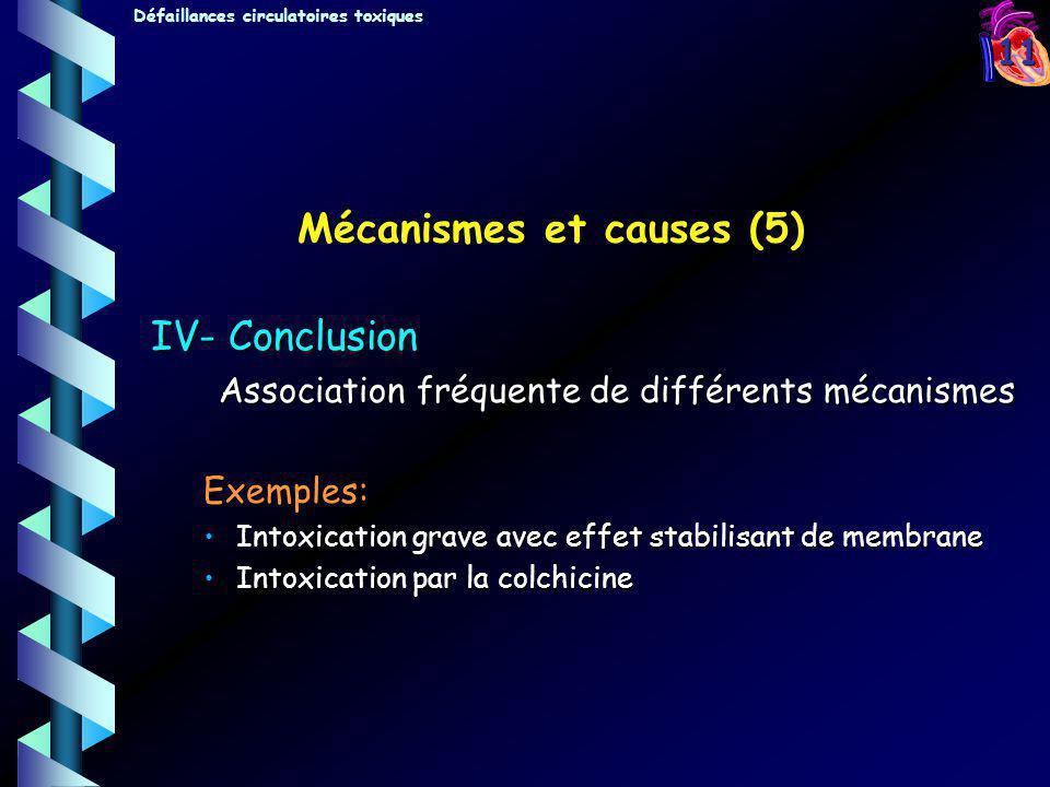 Mécanismes et causes (5)