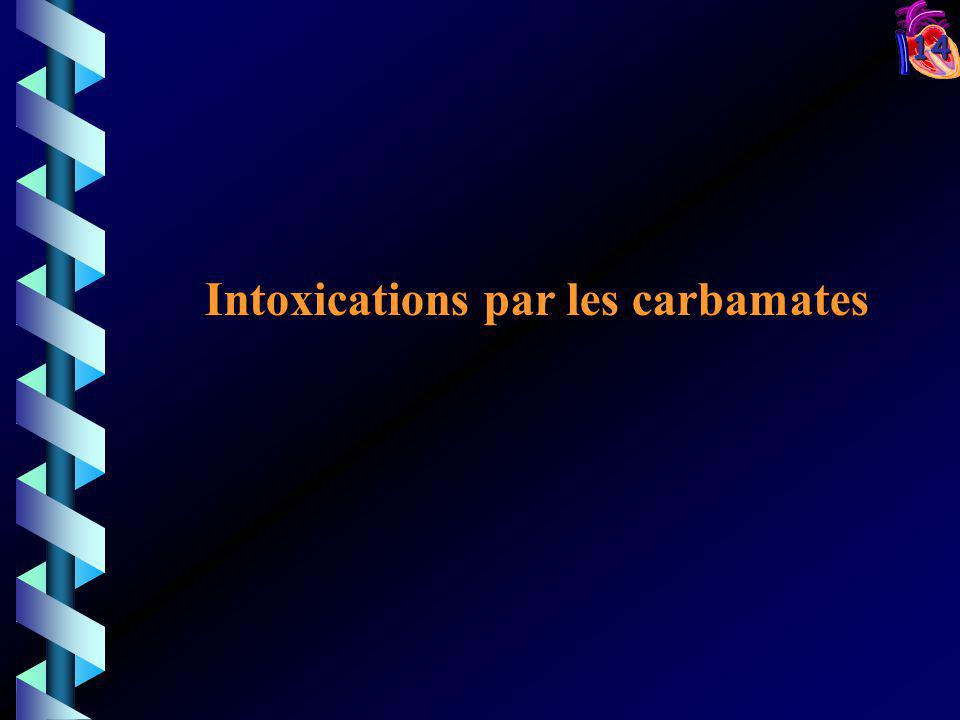 Intoxications par les carbamates