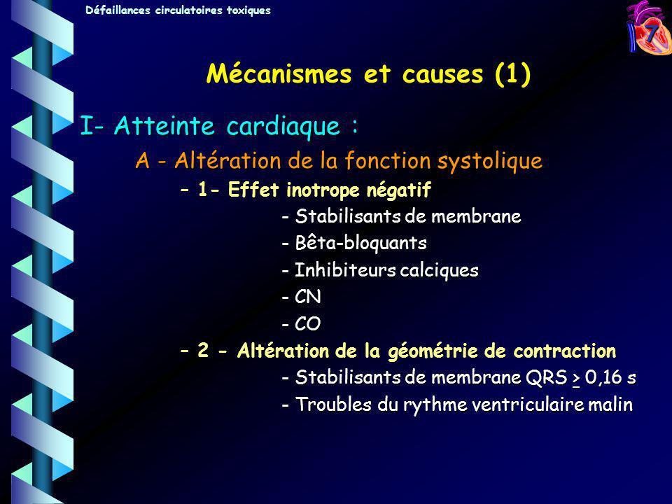 Mécanismes et causes (1)