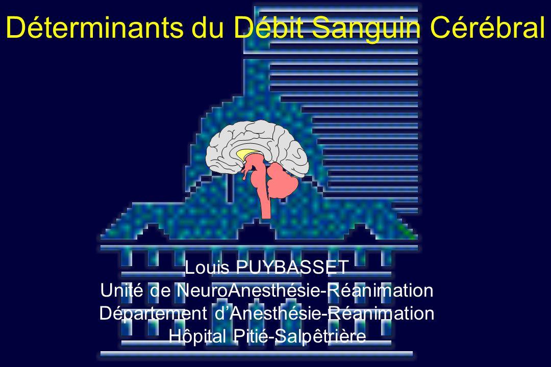 Déterminants du Débit Sanguin Cérébral