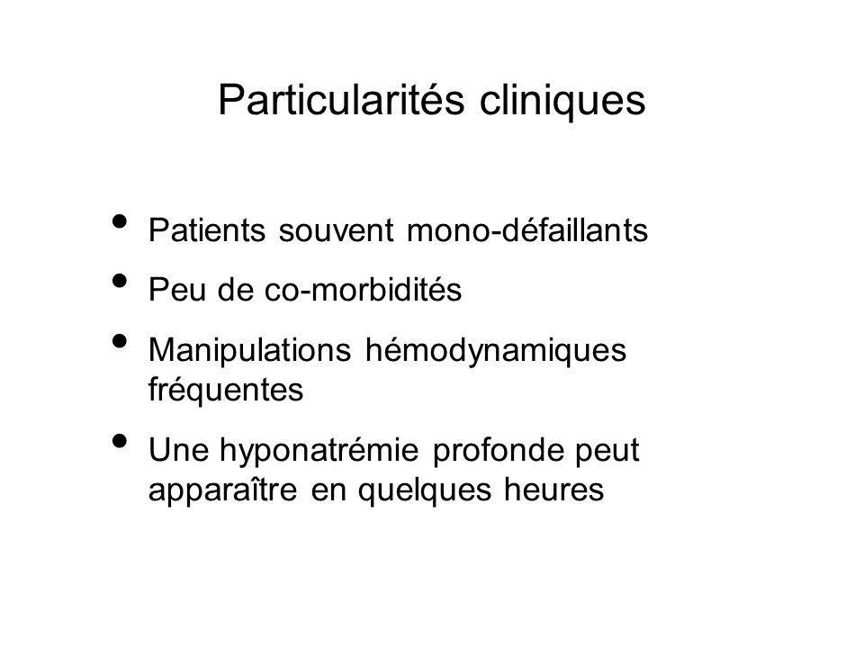 Particularités cliniques