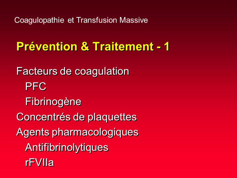 Prévention & Traitement - 1