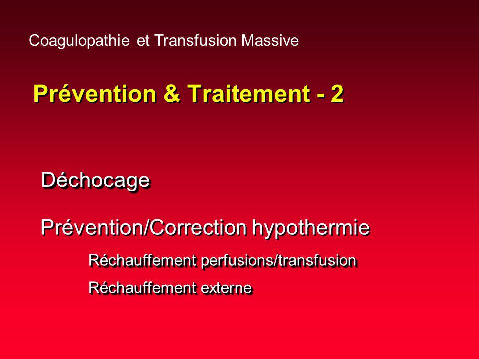 Prévention & Traitement - 2