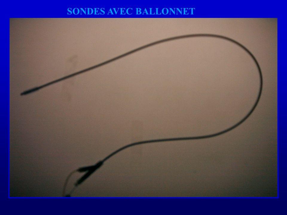 SONDES AVEC BALLONNET