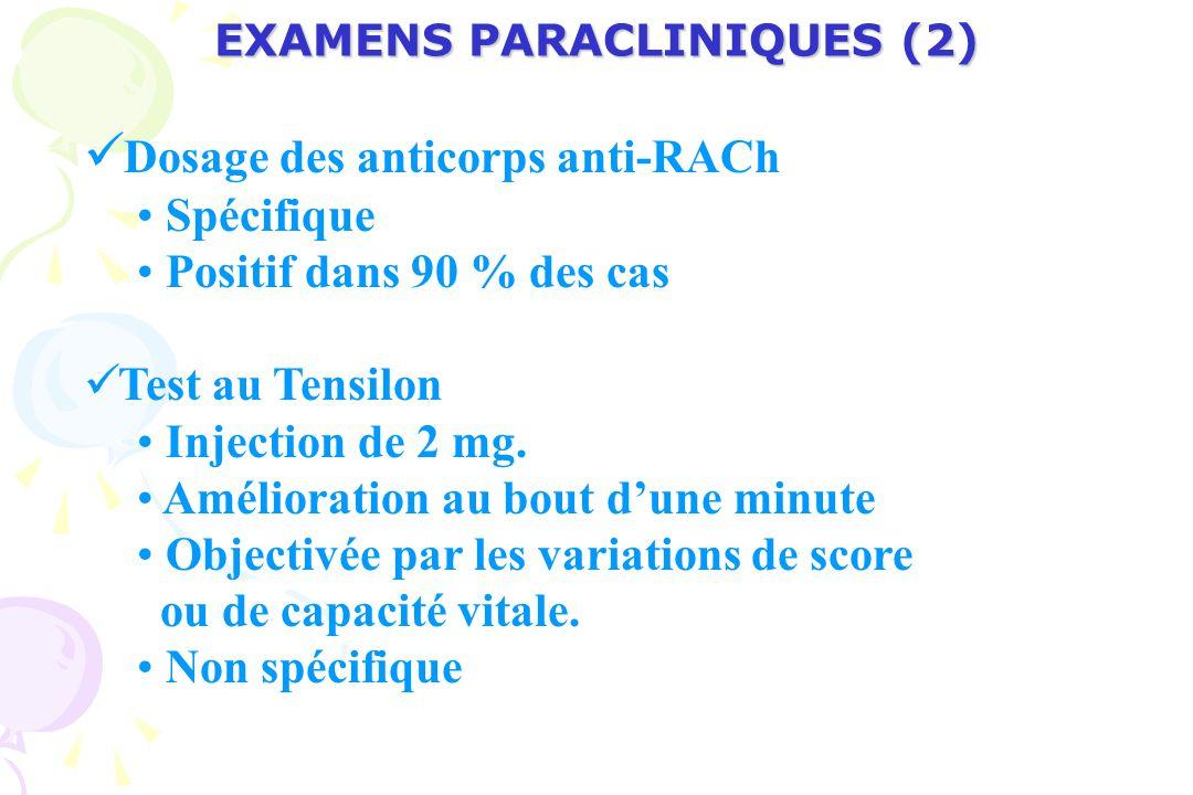 EXAMENS PARACLINIQUES (2)