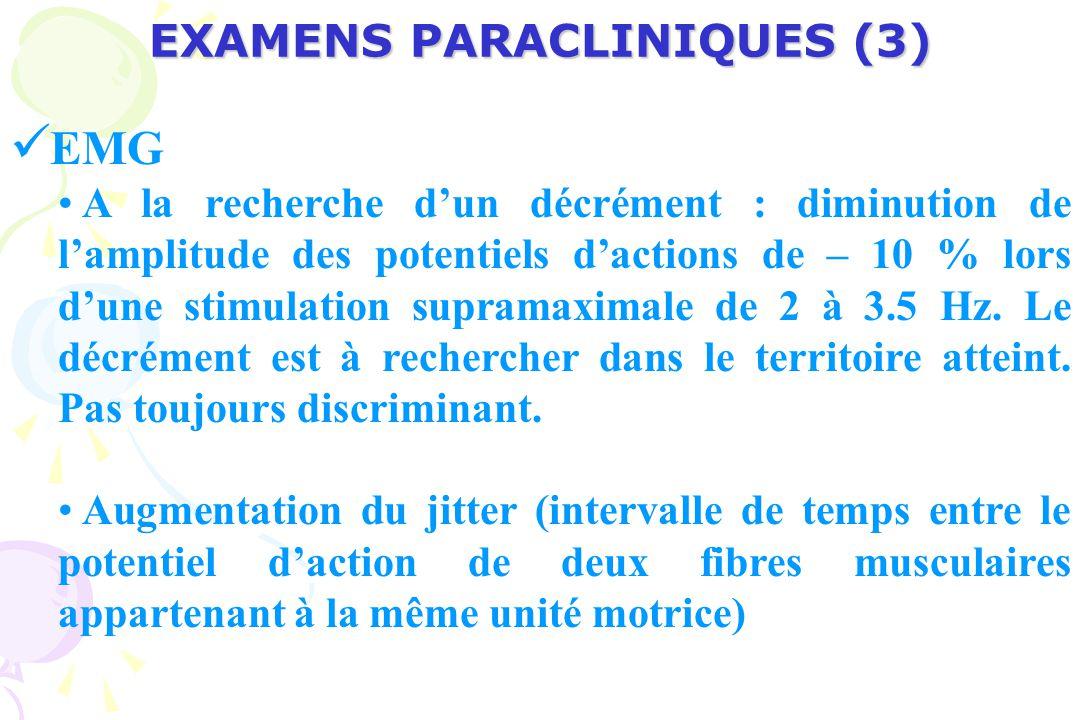 EXAMENS PARACLINIQUES (3)