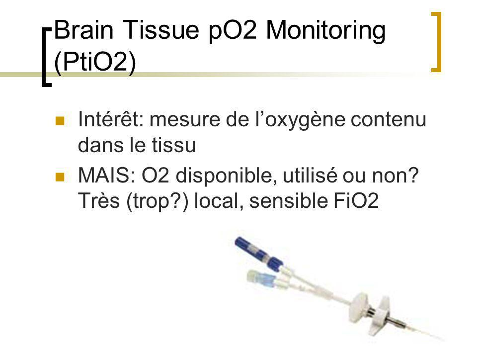Brain Tissue pO2 Monitoring (PtiO2)