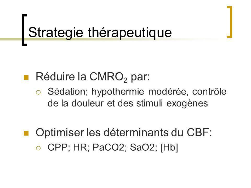 Strategie thérapeutique