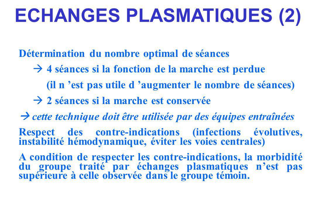 ECHANGES PLASMATIQUES (2)