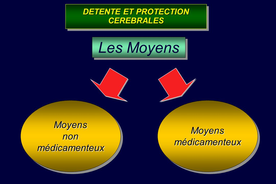 DETENTE ET PROTECTION CEREBRALES