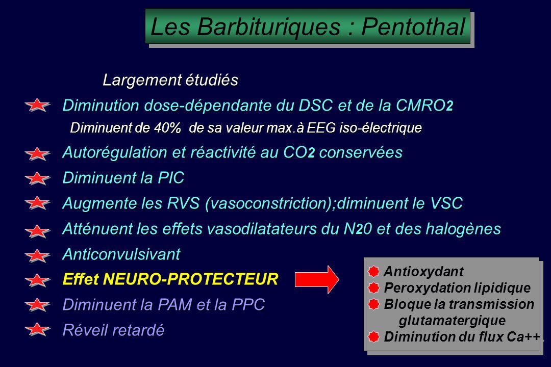 Les Barbituriques : Pentothal