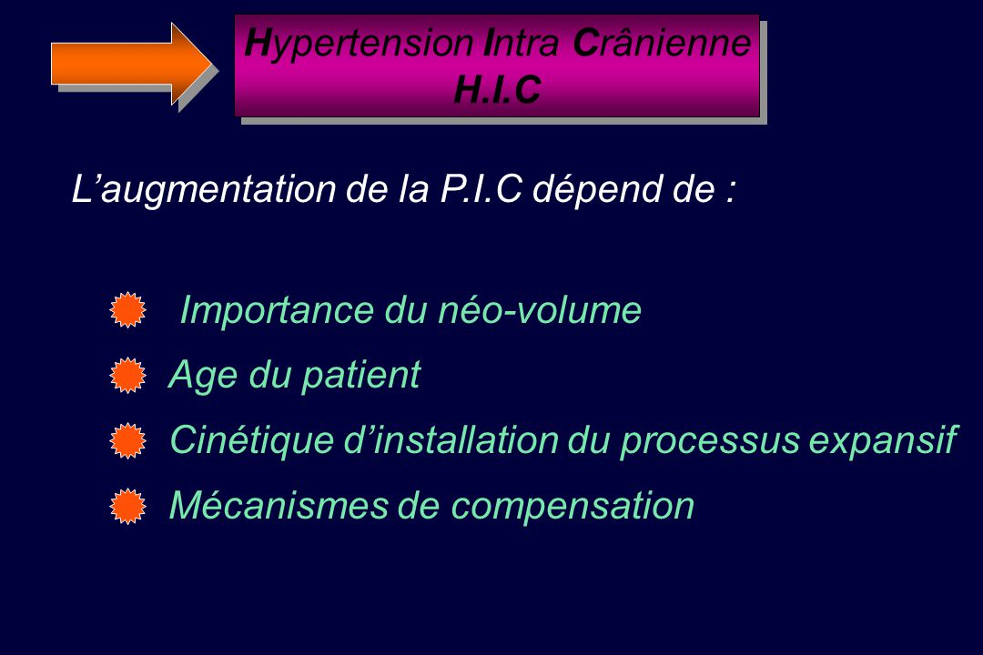 Hypertension Intra Crânienne H.I.C