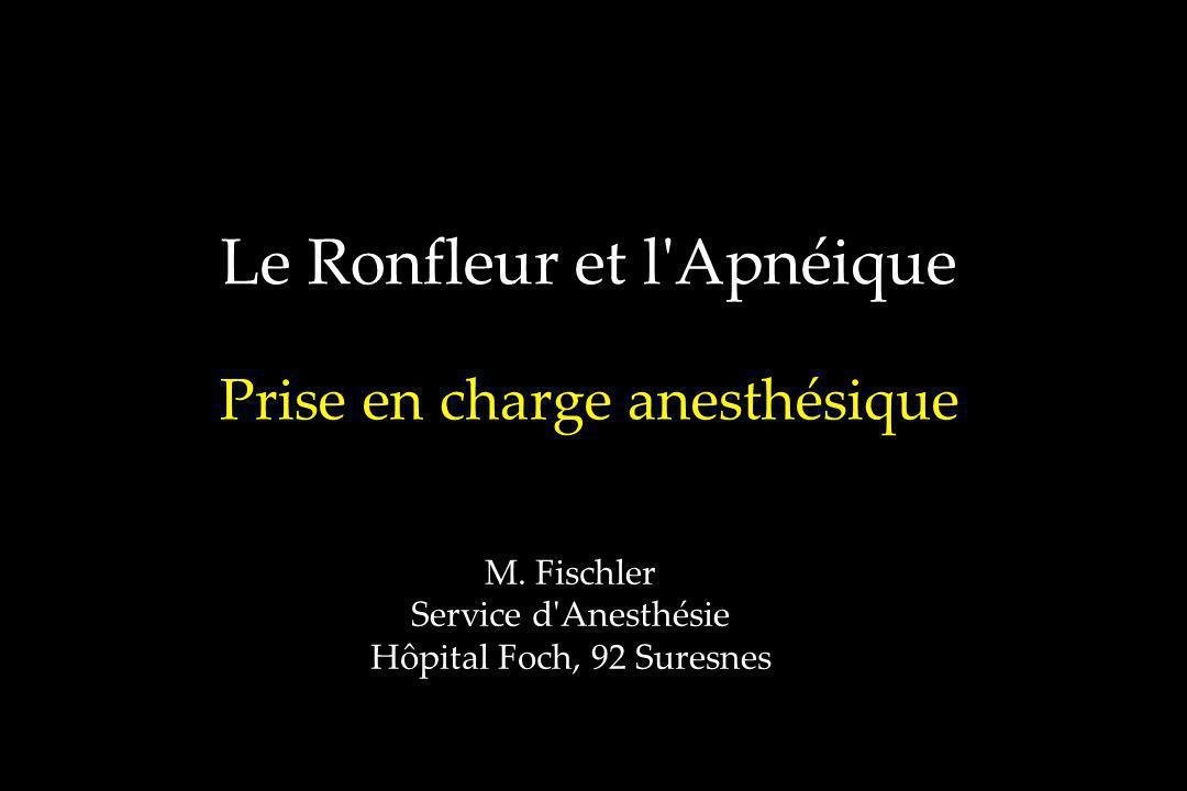 Le Ronfleur et l Apnéique