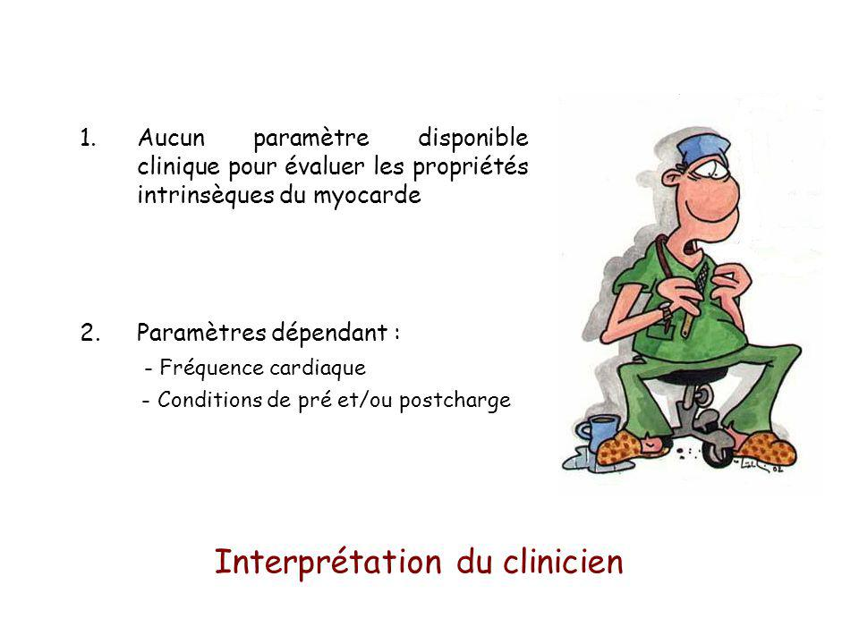 Interprétation du clinicien