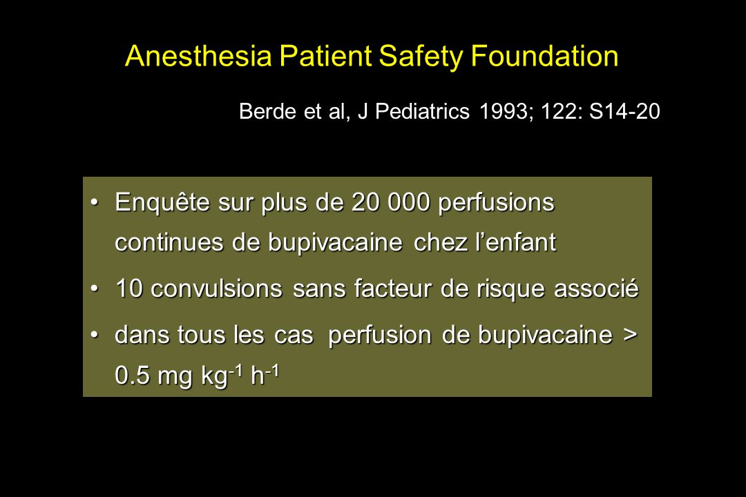 Anesthesia Patient Safety Foundation